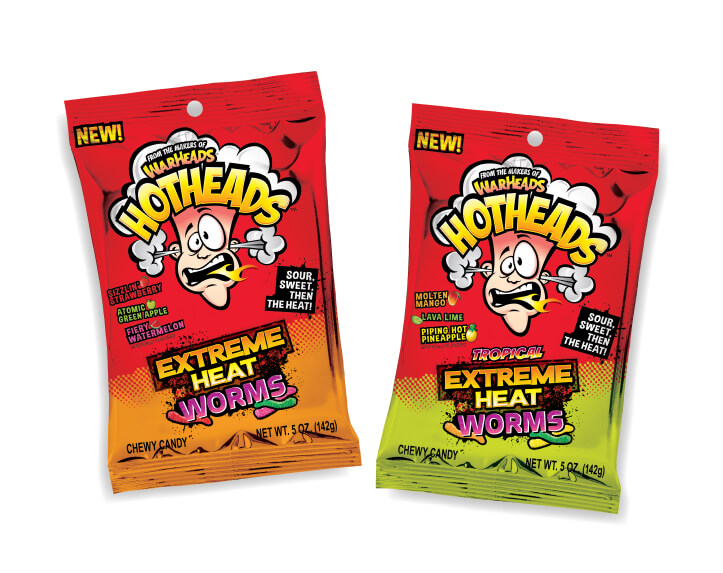 New HOTHEAD Extreme Heat Worms