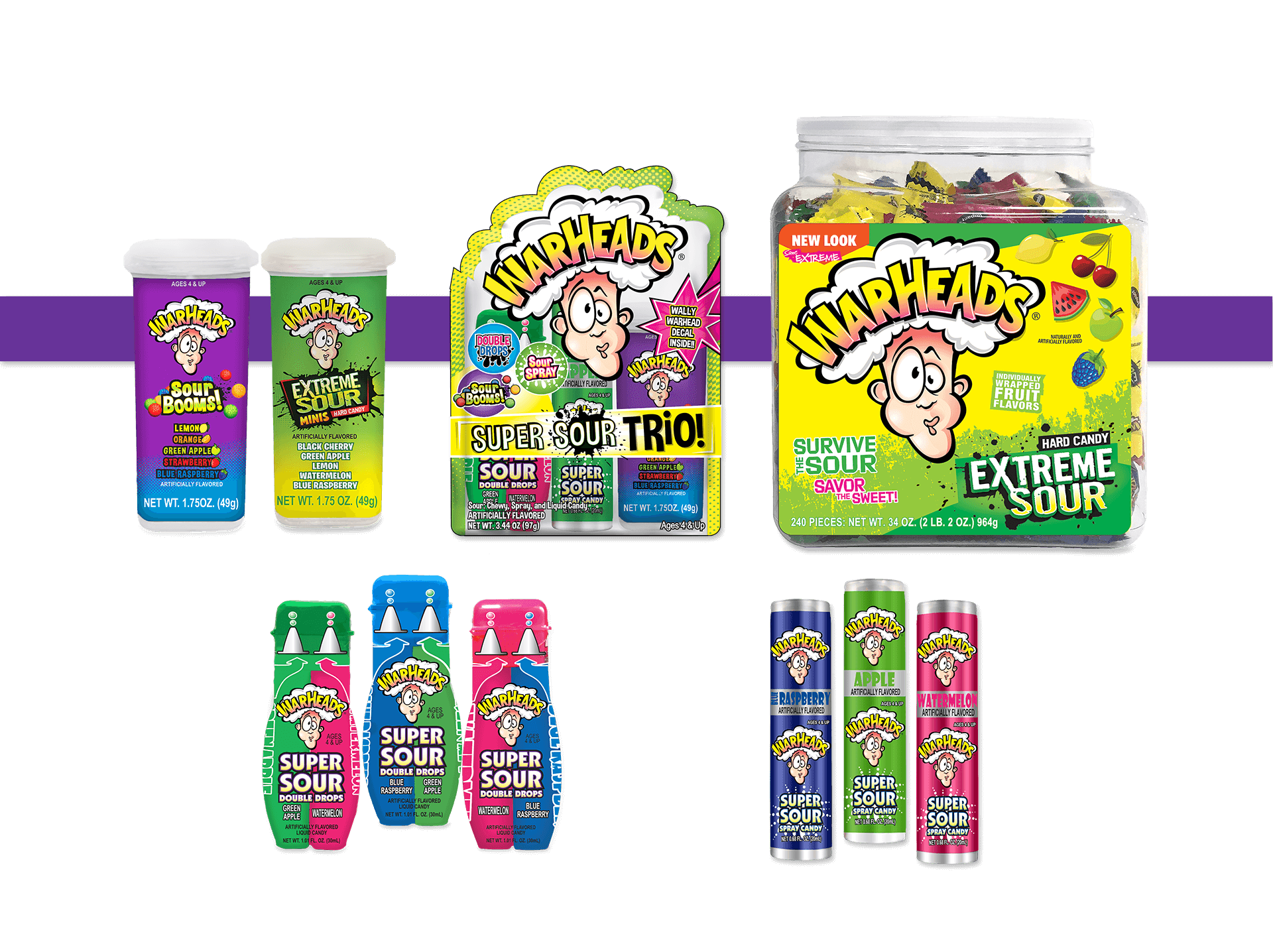 WARHEADS Novelties Assortment