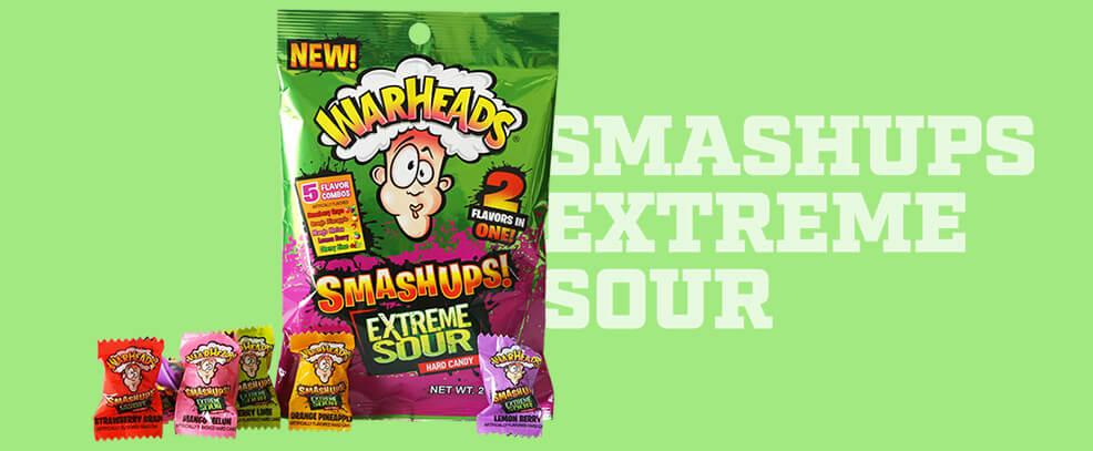 WARHEADS Extreme Sour SMASHUPS
